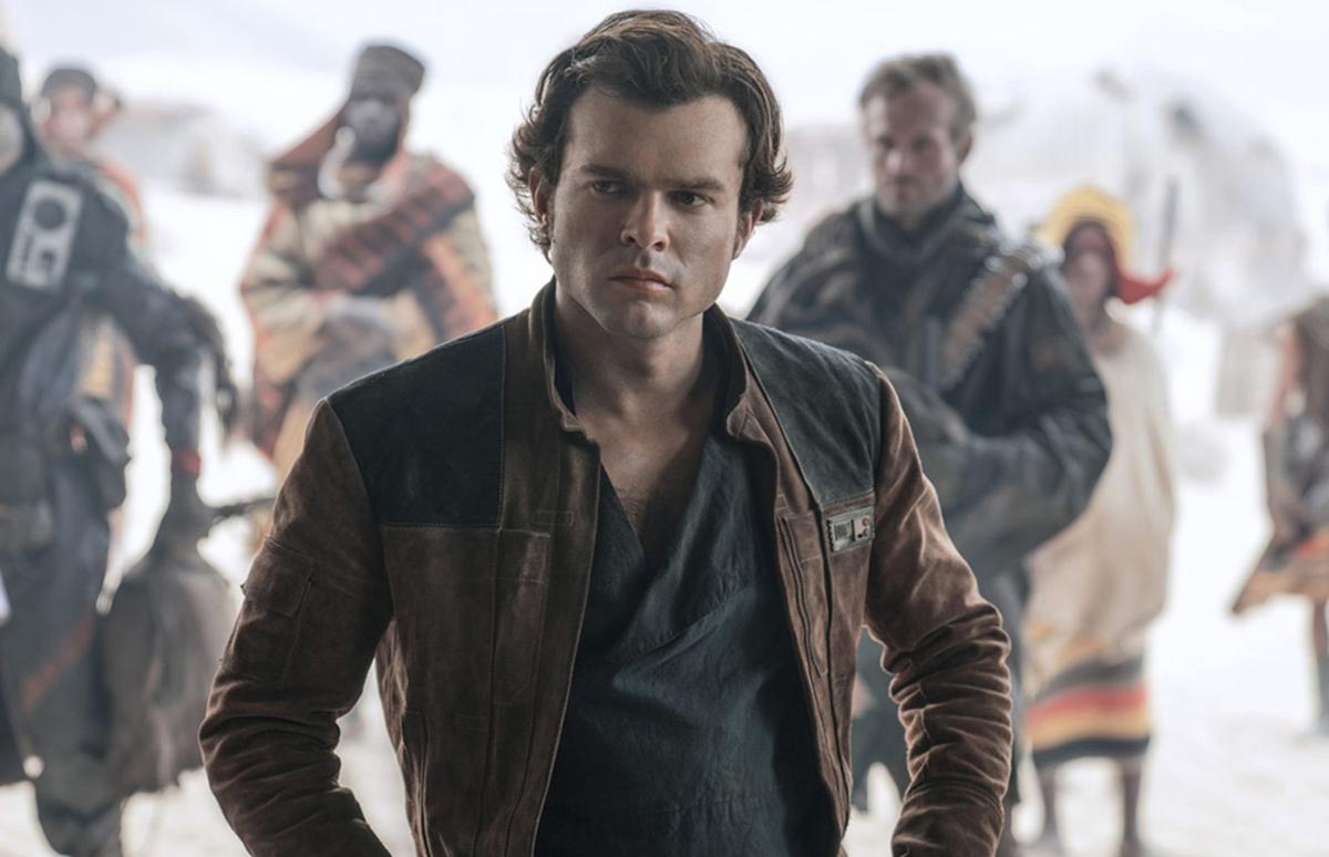 The young Han Solo movie is here. And let's just say a robot is the best part.
