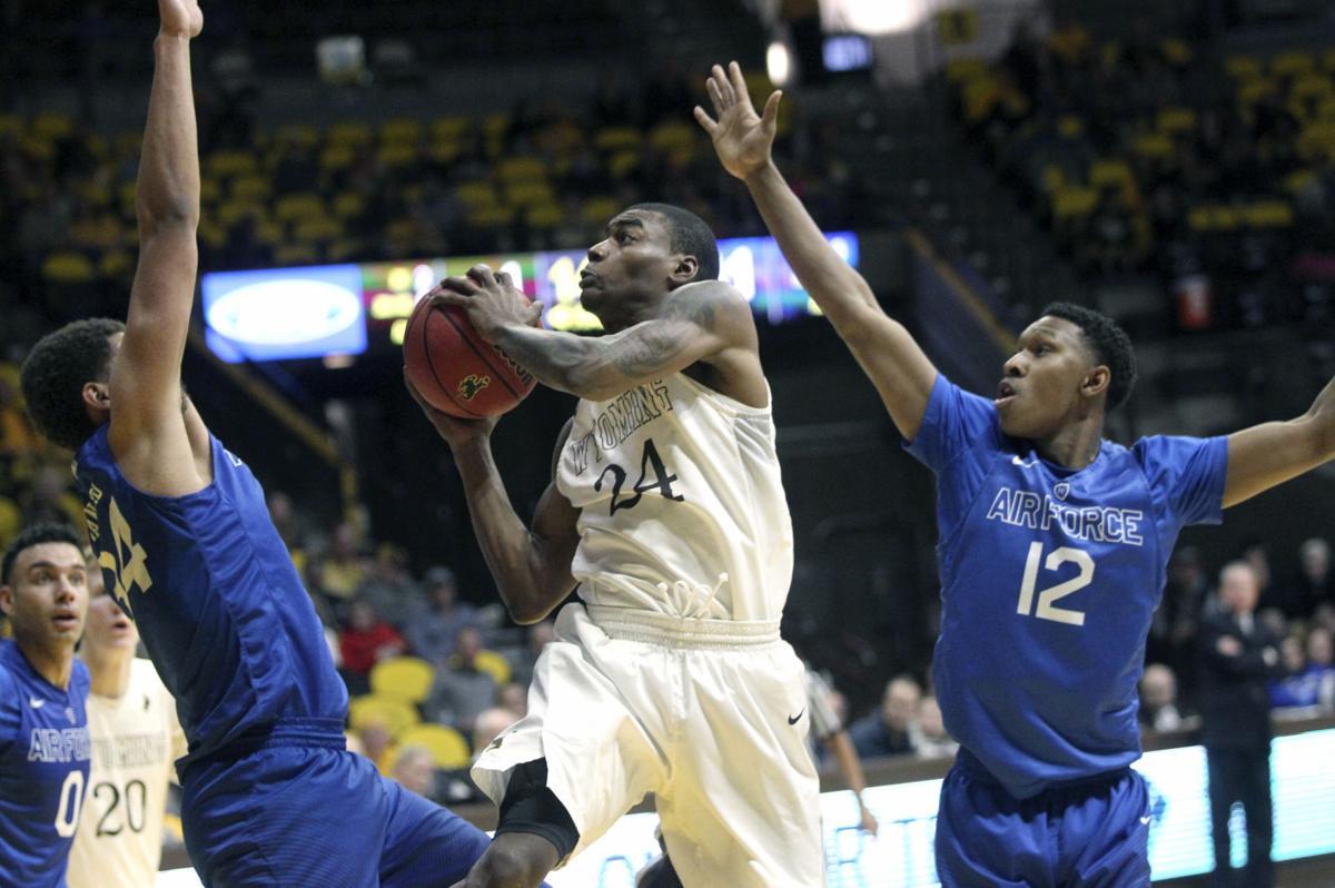 Air Force Wyoming Basketball
