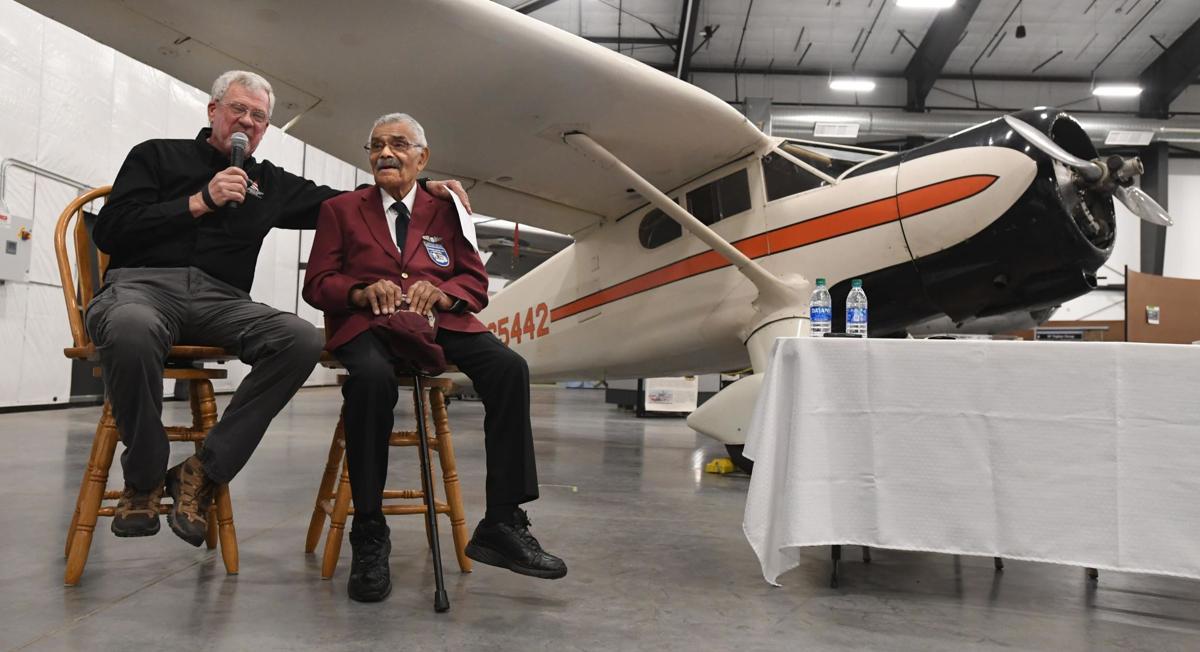 Tuskegee Airman donates prized plane