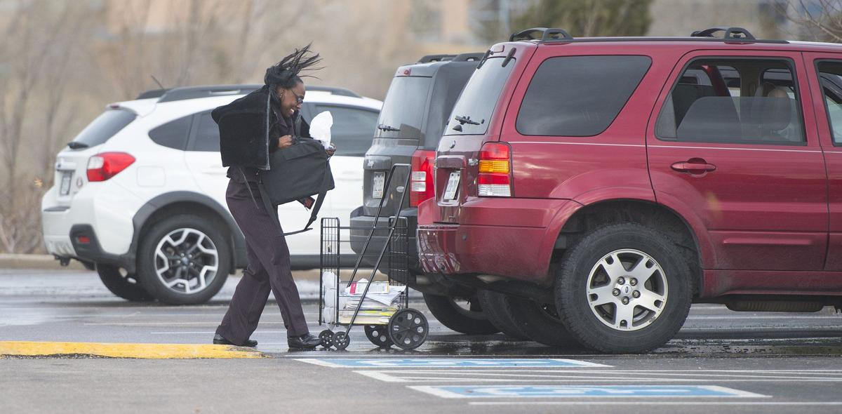 High winds in Colorado Springs