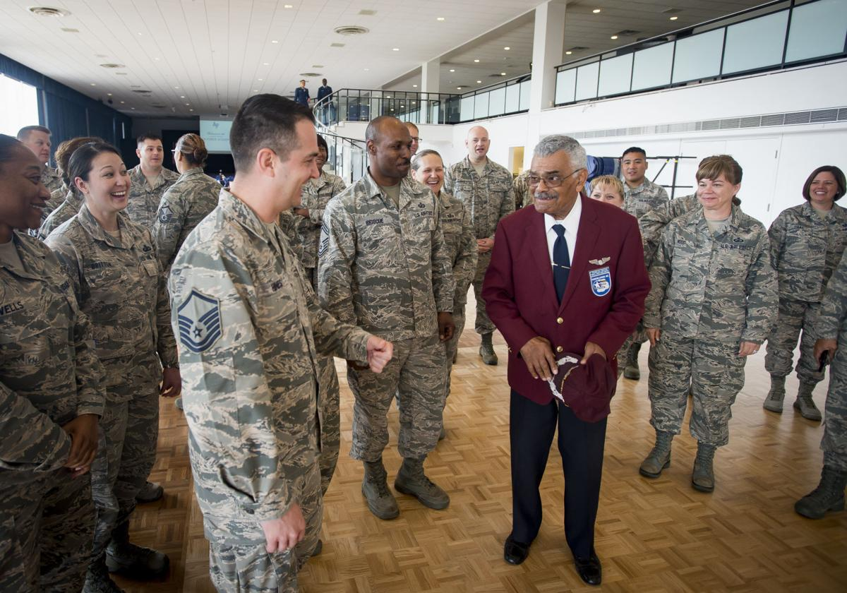 Air Force Academy pays tribute to Tuskegee airmen who overcame radical barriers