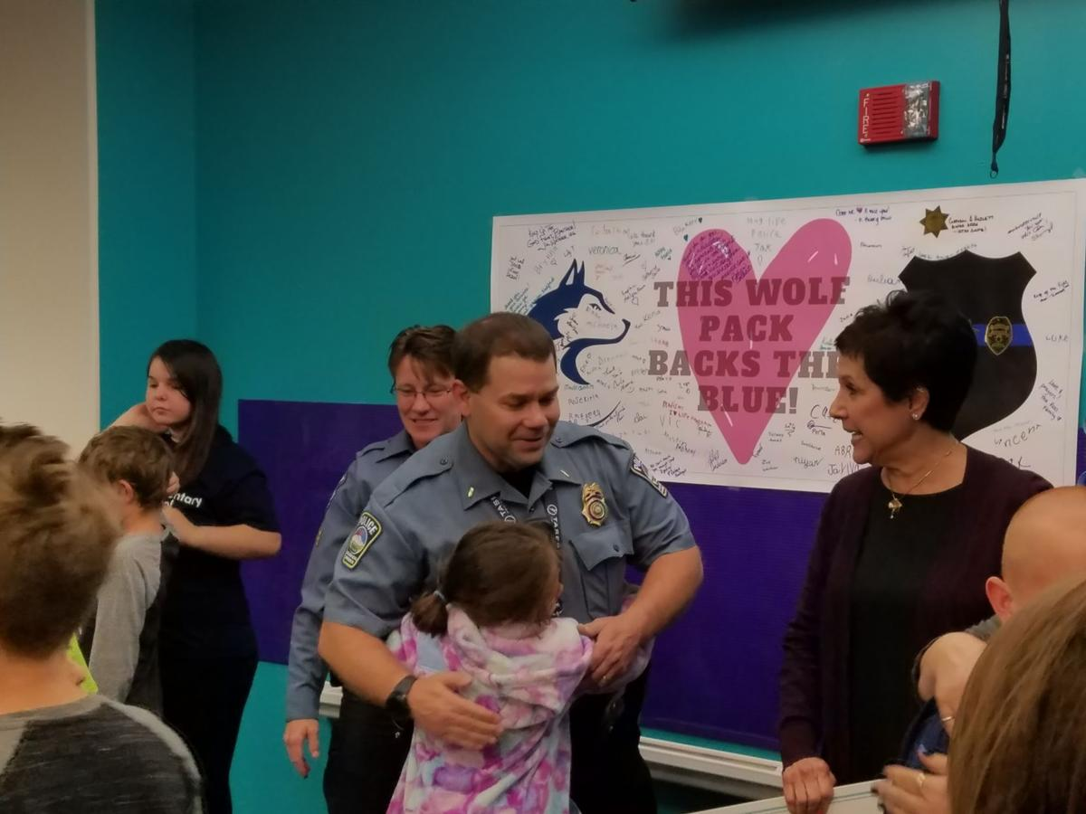 Scott Elementary School donates money to benefit wounded Colorado Springs Police Officer Cem Duzel