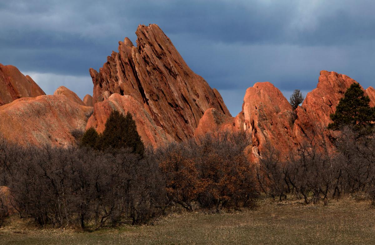 Roxborough State Park, Littleton, Colorado, 4/6/2014. (Photos by Ken Papaleo//High Country Coloring)