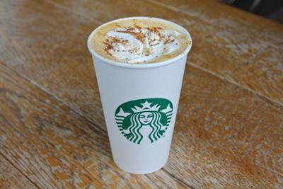 Put on your leggings and brace for nutmeg. Starbucks' pumpkin spice latte is back.