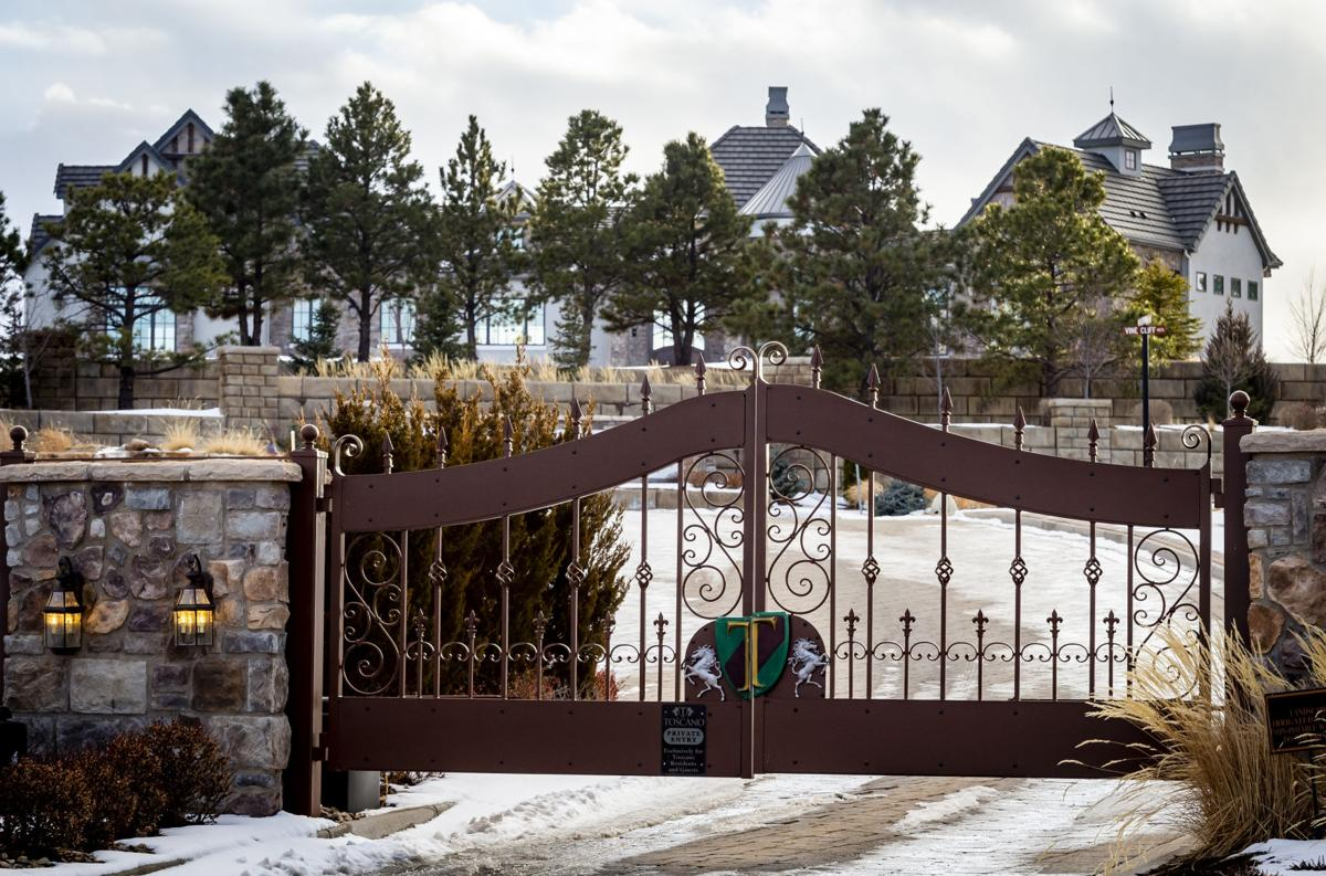 (TRIBUNE) A housing area with a gated entrance at Flying Horse