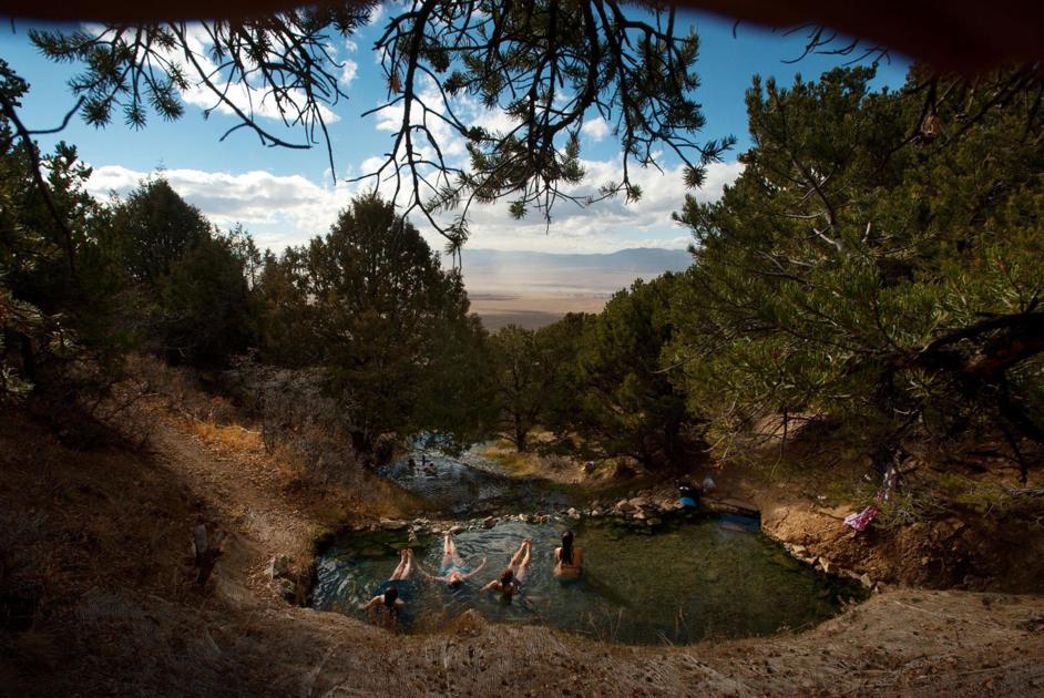 Colorado hot springs open for business but with coronavirus restrictions in place