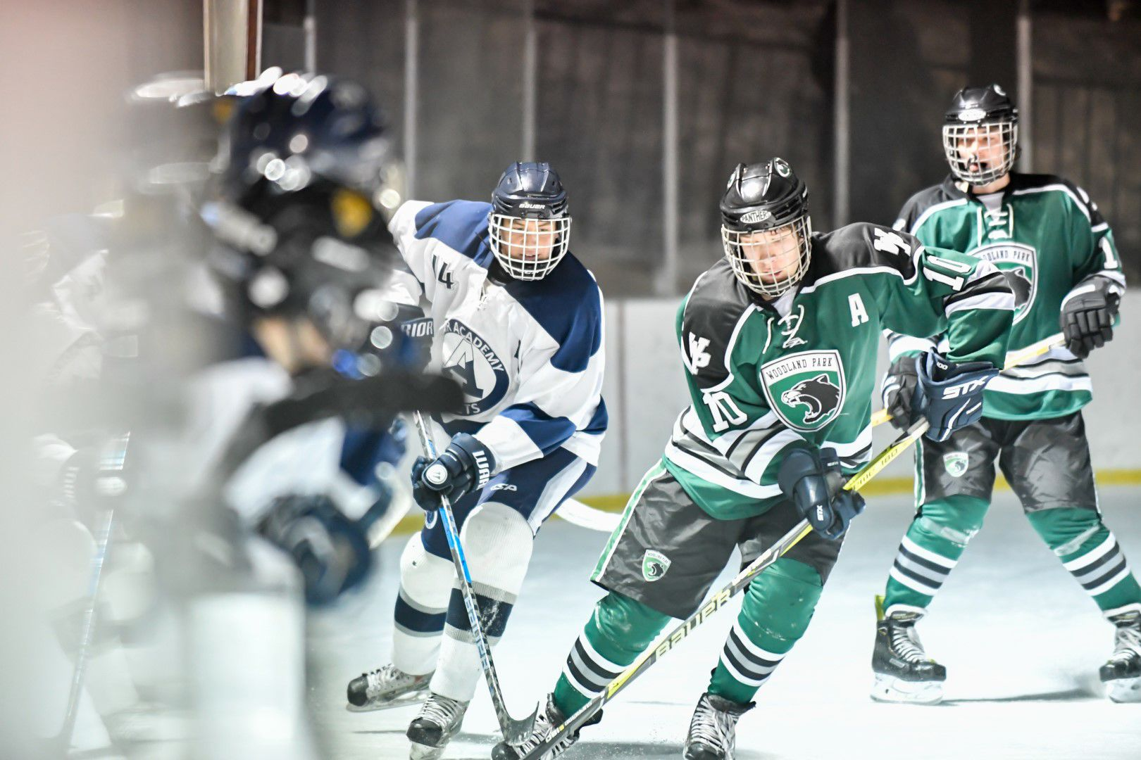 CO H.S.: Woodland Park High School Hockey Records Consecutive Wins Against Air Academy, Palmer