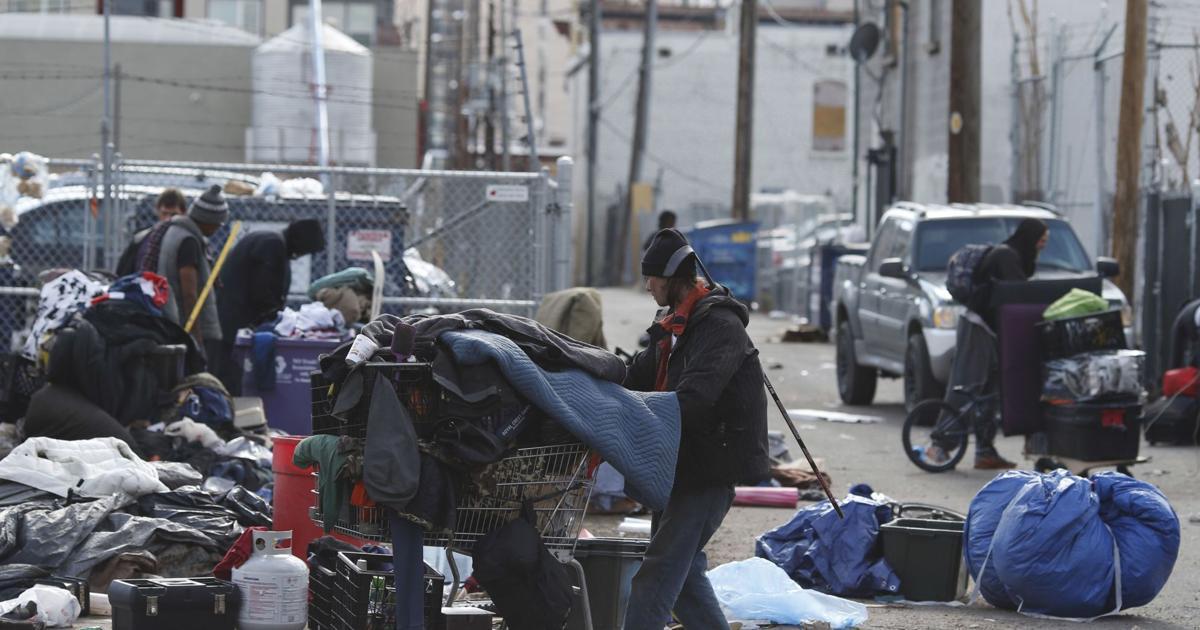 COVER STORY Denver homeless camping ban 300 trash