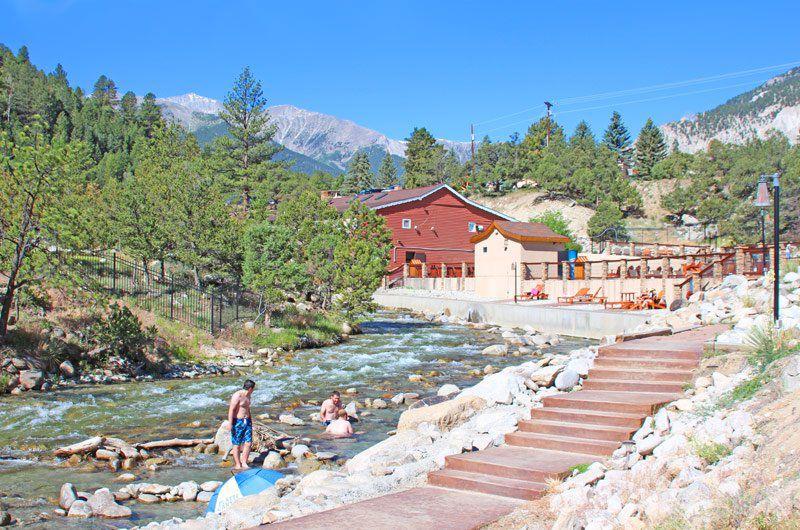 Colorado Hot Springs: Rustic luxury at Mount Princeton