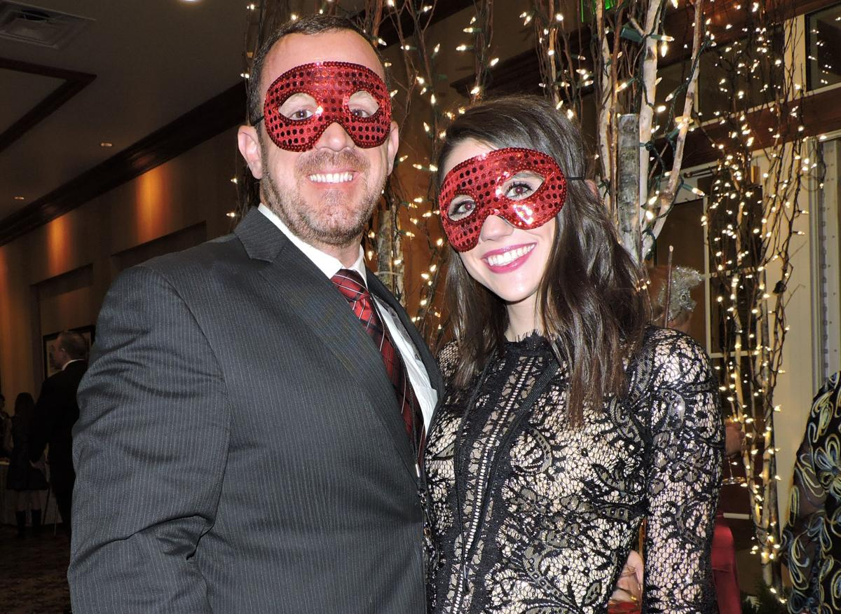 "Heart Ball ""A Midwinter Night's Dream:"" Jason Lyman and Hollie Kasper 021917 Photo by Linda Navarro"