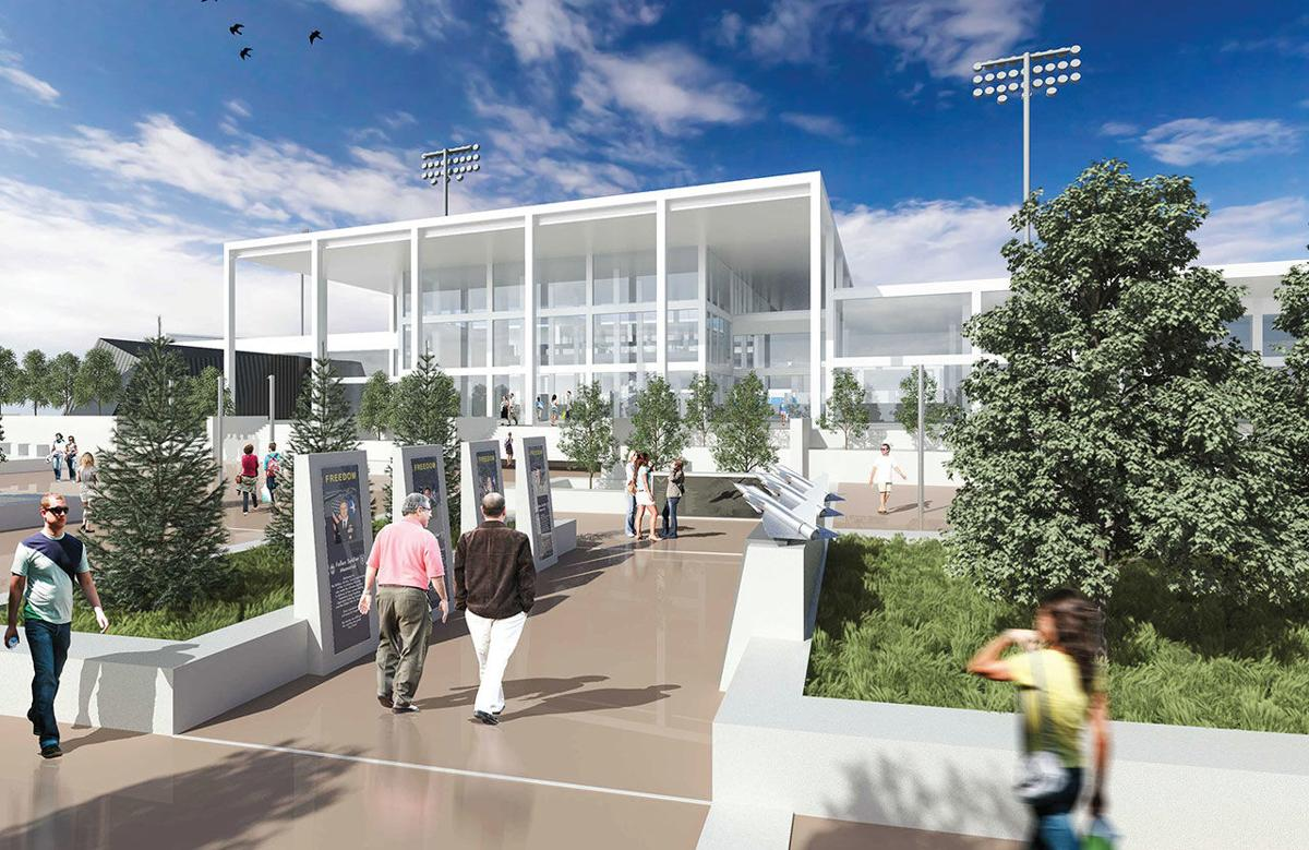 City for Champions: Redoubled effort in 2017 on new Air Force Academy visitor's center