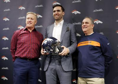 Broncos Flacco Football