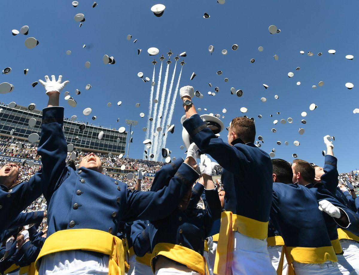 Get tickets for Air Force Academy's graduation starting