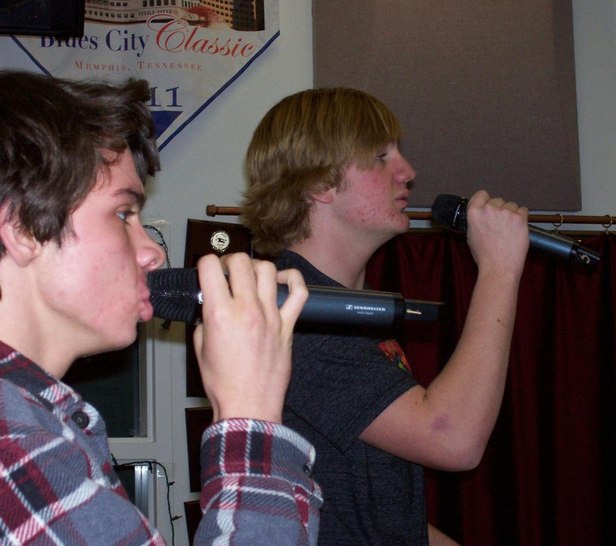 Quinn Corry and Cameron Russell blend harmonies