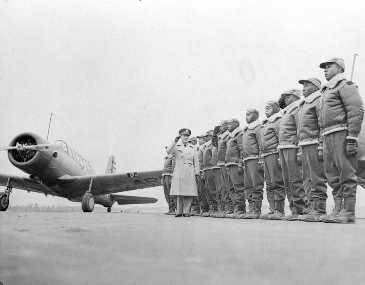 WWII TUSKEGEE AIRMEN TRAINING