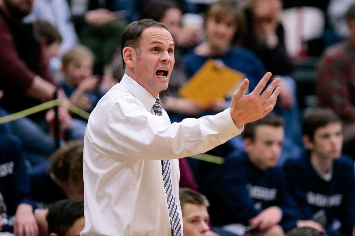 Palmer Ridge boys basketball coach Nick Mayer