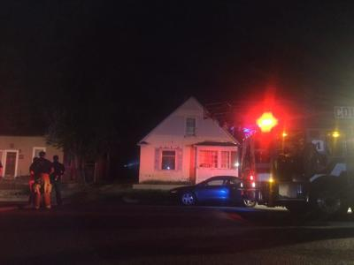 Garage fire forces evacuation of two Colorado Springs homes