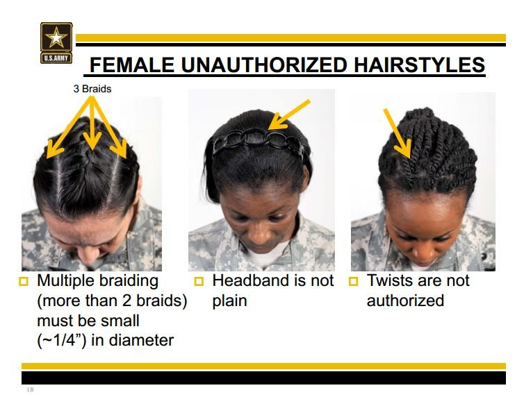 Black Lawmakers Push Pentagon On Army Hair Policy Military