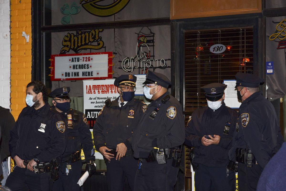 Virus Outbreak-NYC Sheriff