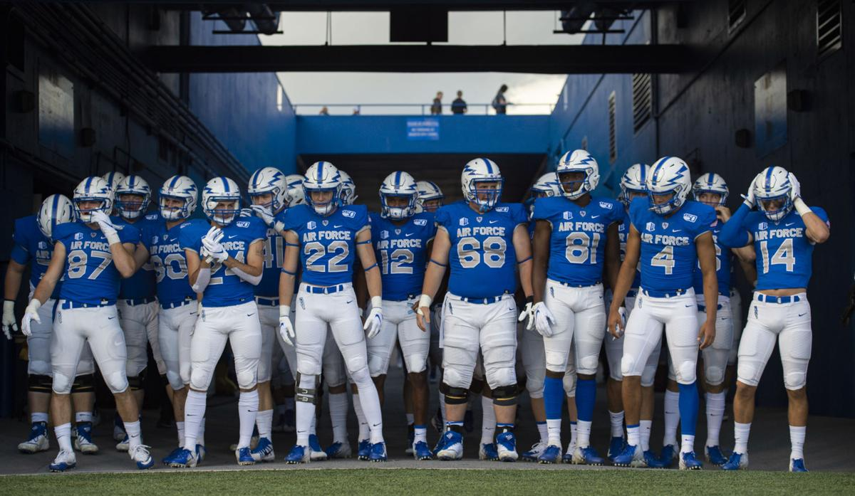 Air Force Football In Good Position As It Begins Preparations For Navy Sports Coverage Gazette Com