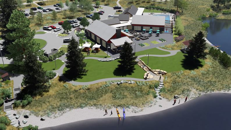 Construction on The Farm's spectacular Community Clubhouse is in full swing!
