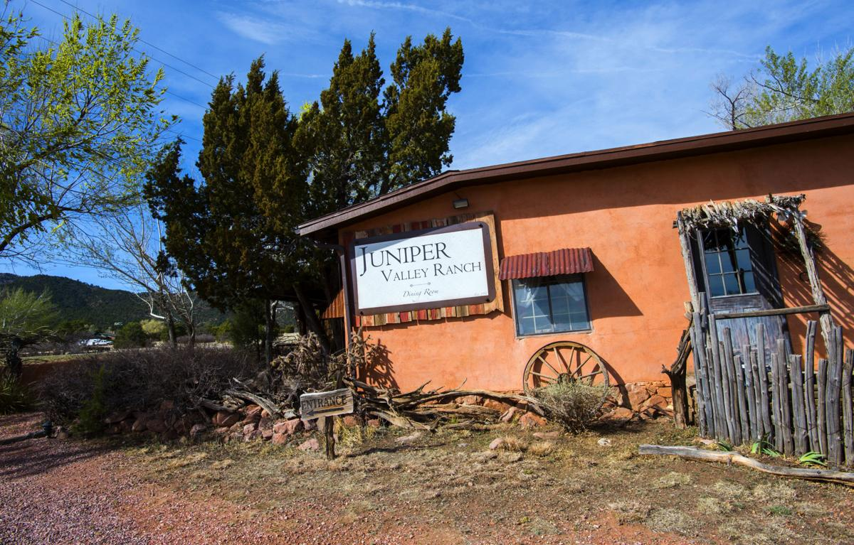 The Juniper Valley Ranch, pictured Friday, April 7, 2017, has been serving homestyle dinners since 1951. The restaurant is 15 miles south of Colorado Springs on State Highway 115. (The Gazette, Christian Murdock)