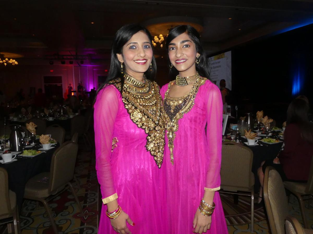 Dancers Krithika Prashant and daughter Shreya Krishan at the 2018 Business & Arts lunch