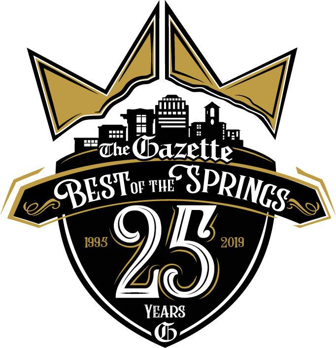 Gazette best of logo 25 years