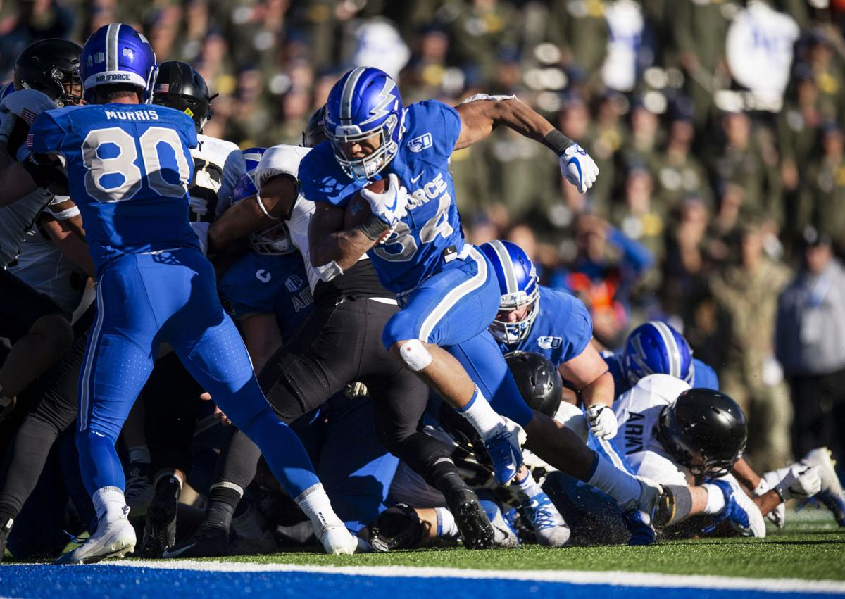 Air Force soars over Army, 17-13