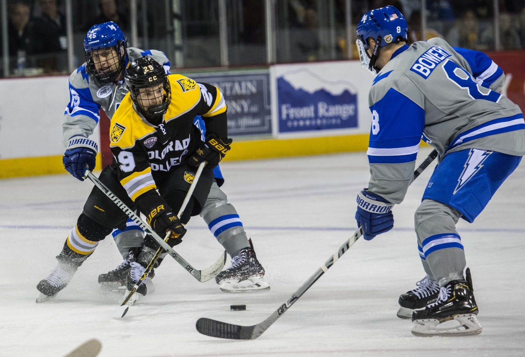 Colorado College Tigers On Top, At Falcons' Expense