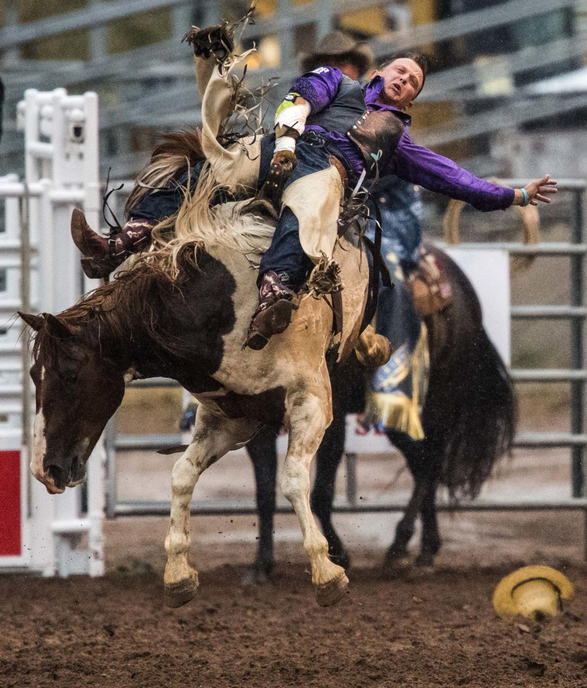 Rodeo Clown Loves Entertaining Crowd With Self Deprecating