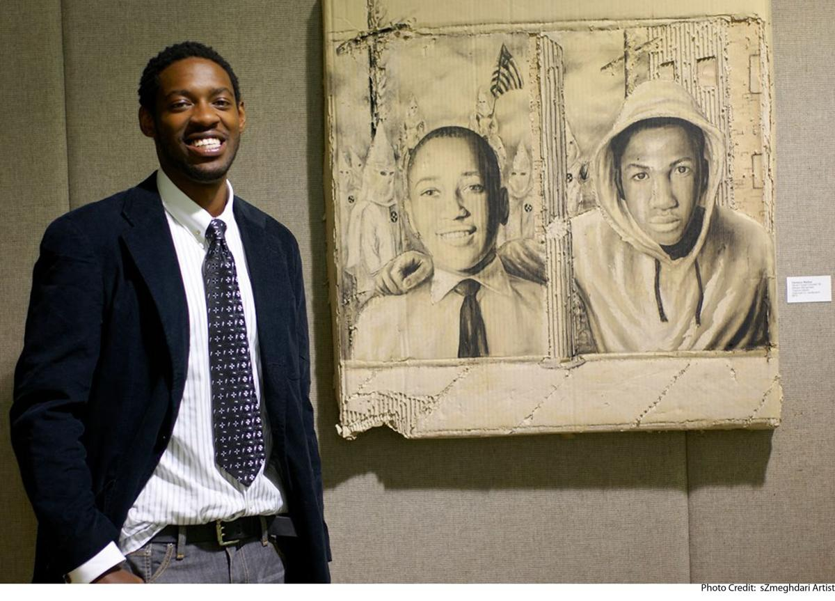 Creating powerful art with help of history