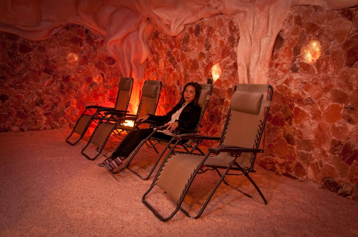 Breathing easy at Denver's first salt cave | Health