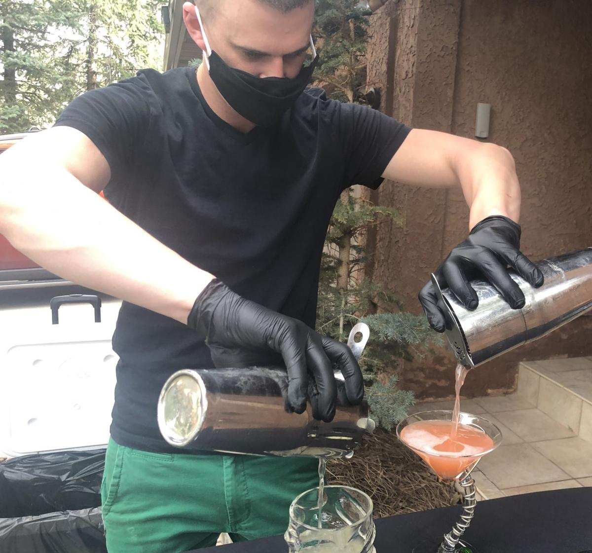Colorado Springs restaurateur offering happy hour home-delivery cocktails