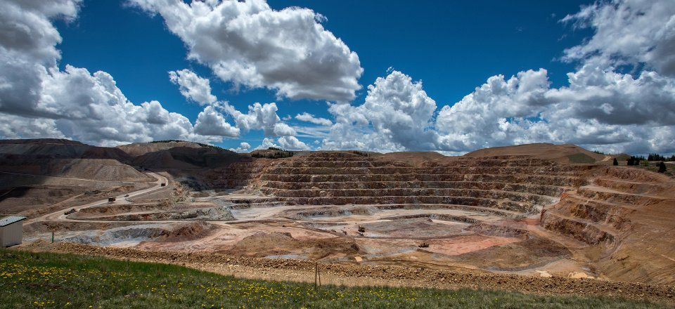 Ore is mined from the open pit Thursday, June 11, 2015, at the Cripple Creek and Victor Gold Mining Company. Newmont Mining Corp. agreed to buy the gold mine for $820 million from AngloGold Ashanti Ltd. (The Gazette, Christian Murdock)