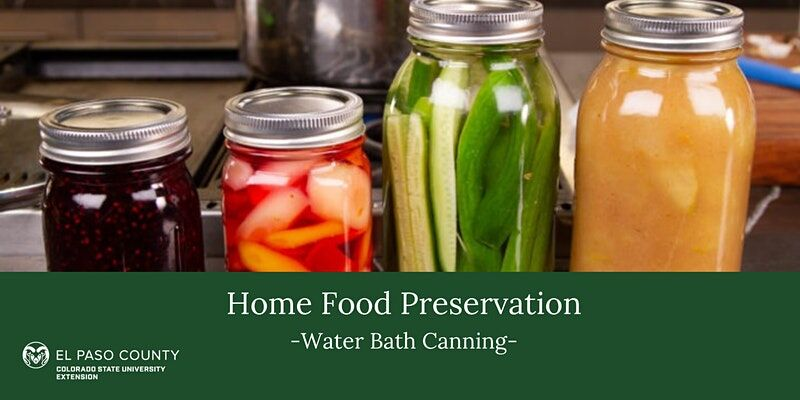 Colorado Springs CSU extension office offering food preservation, diabetes and cottage business classes