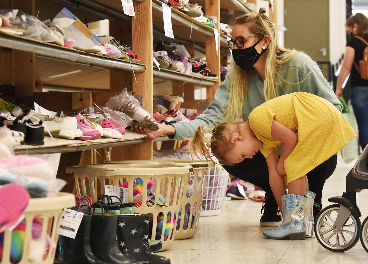 Parents save money during Just Between Friends sale in Colorado Springs