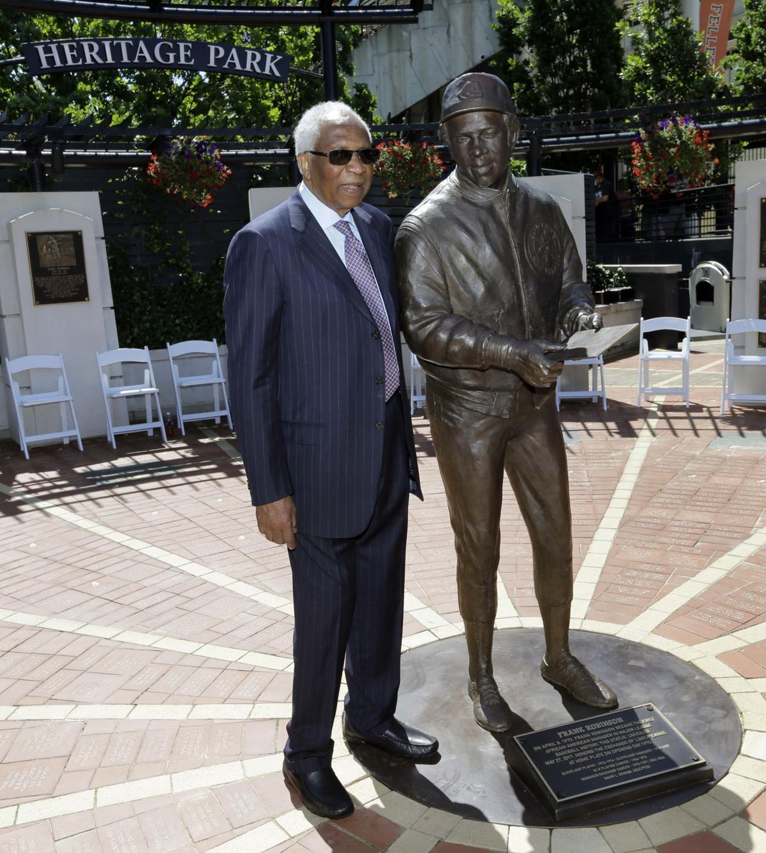 Robinson Statue Baseball
