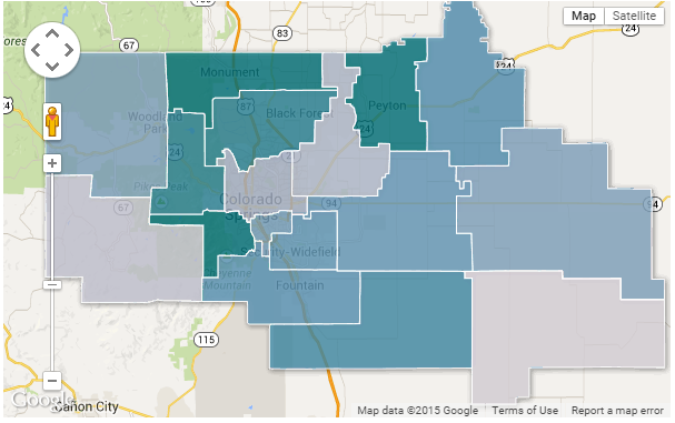 Map Monday: See which school districts have the highest ...
