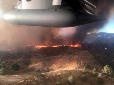 302nd Airlift Wing C-130 provides MAFFS support for Sacramento fires