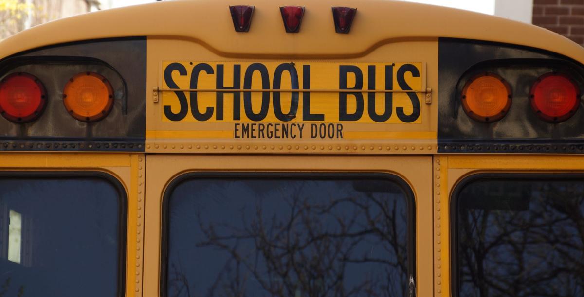 school bus - stock