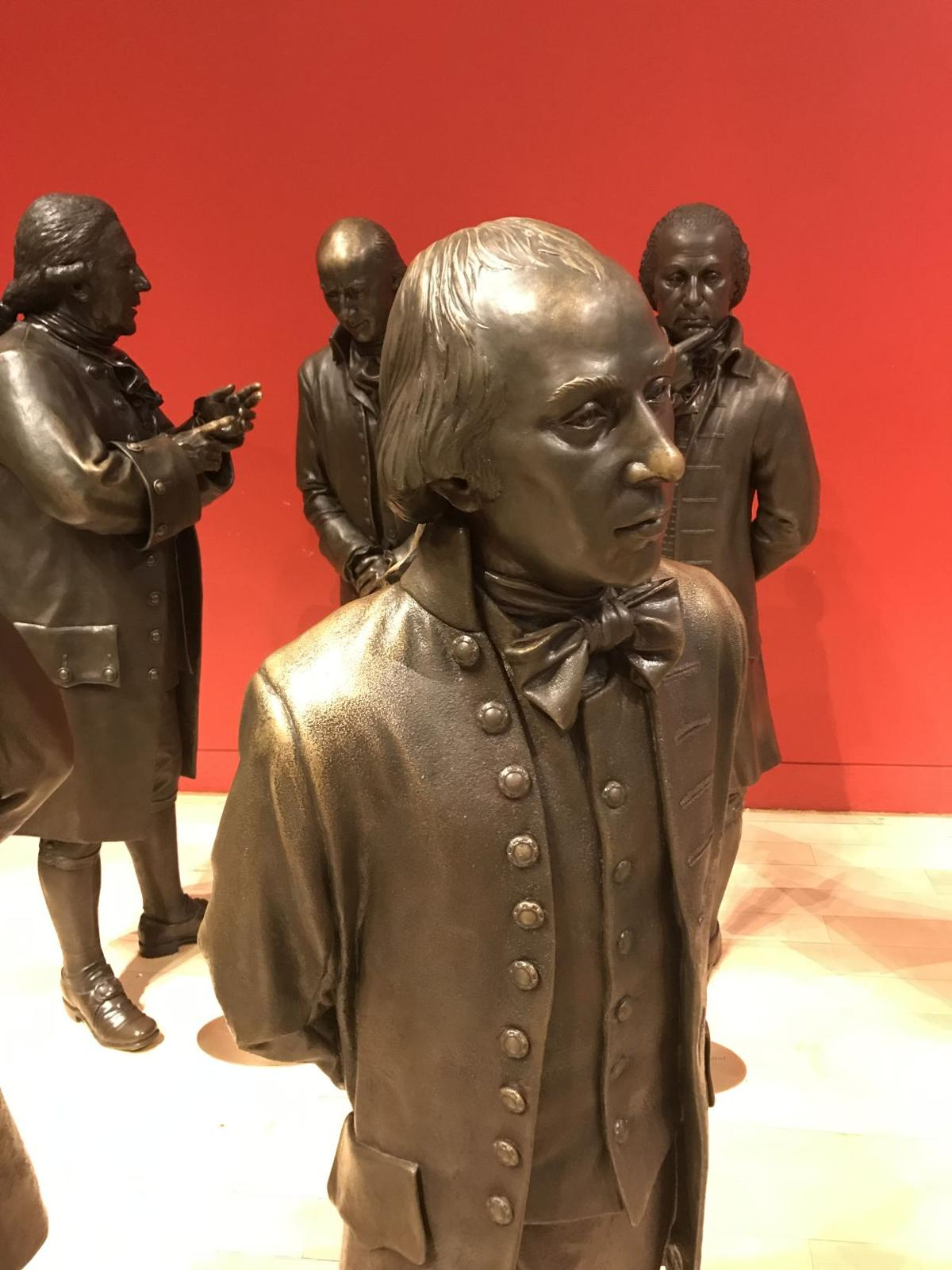 James Madison in Signer's Hall