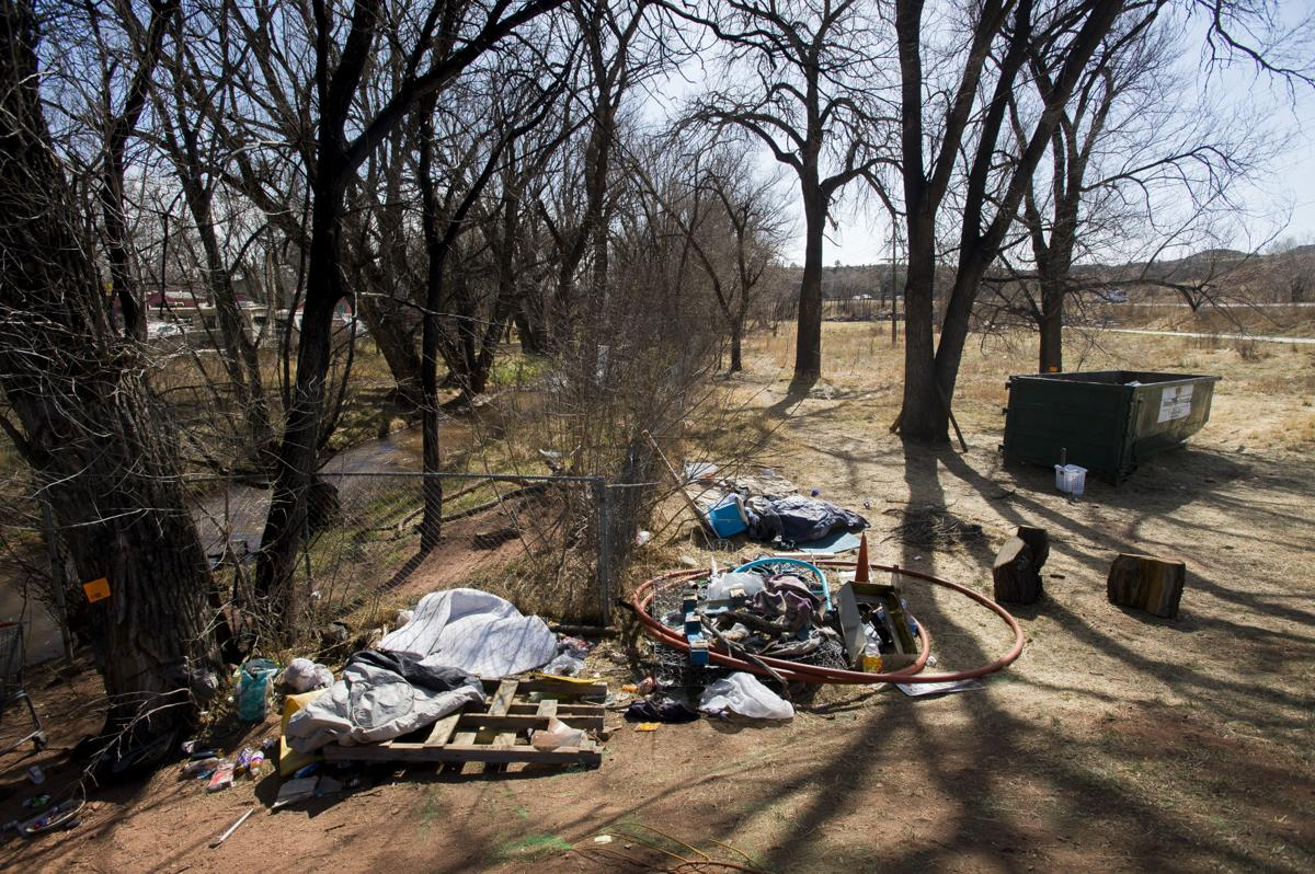 Homeless camp near Old Colorado City dismantled in Sheriff Office's latest effort to clean up county