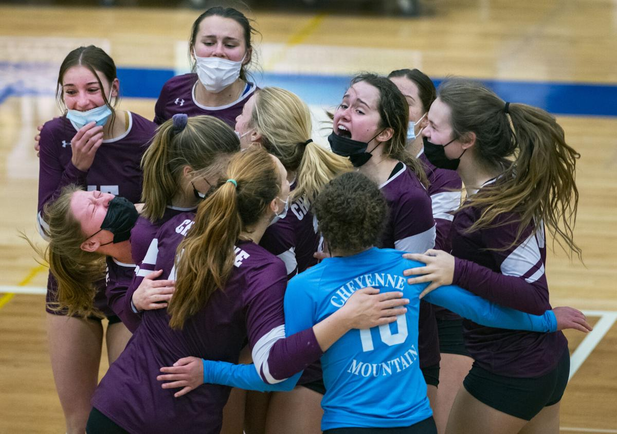 In battle of top volleyball teams, Cheyenne Mountain comes out winner