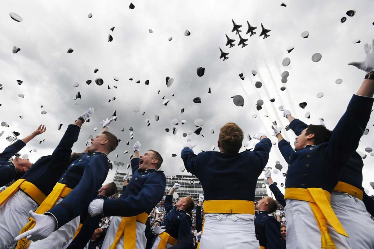 Usafa Graduation 2020.Live Blog Thunderbirds Take To The Sky As Air Force Academy