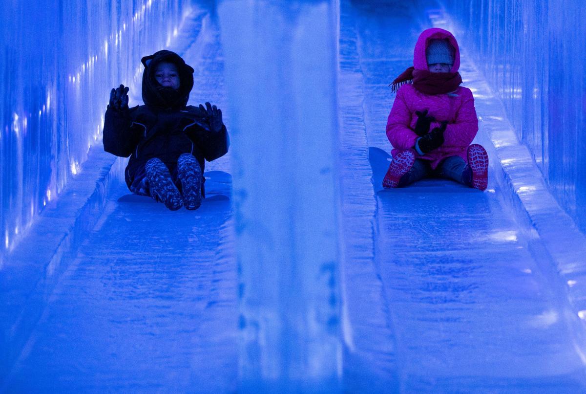 Dillon Ice Castles: Walking through a frosty dream world