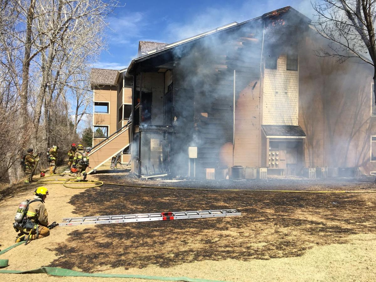 Fire damages three units at southeast Colorado Springs apartment complex
