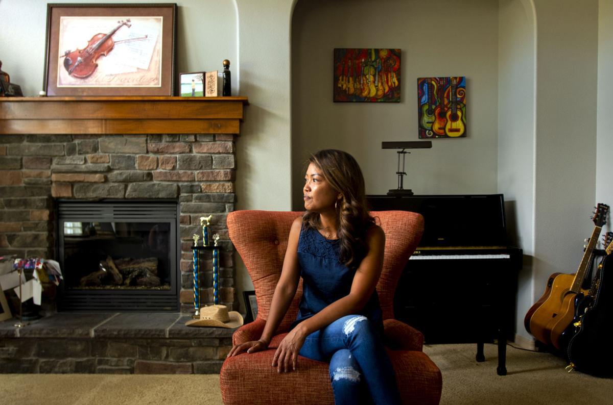Michelle Malkin in her home in El Paso County