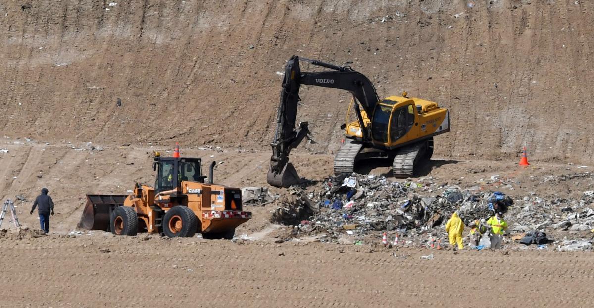 landfill Berreths remains