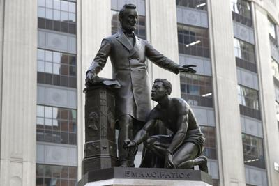 Racial Injustice Emancipation Statue